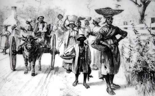 奴隷制度拡大