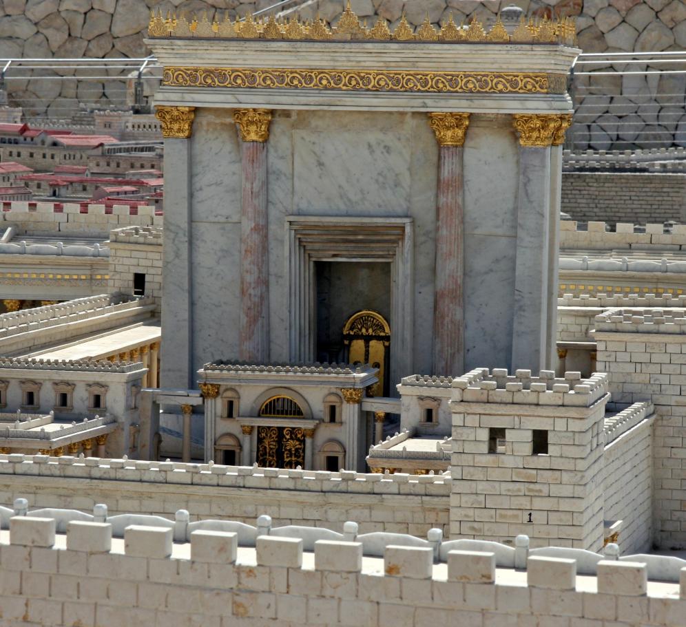 模型で想像する「第二神殿」